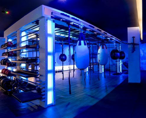 Instalaciones gimnasio Century Sevilla